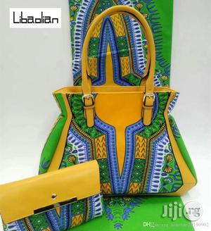 African Quality Fabrics Ankara Bags With 6 Yards Wax And Purse Xix | Bags for sale in Lagos State, Ikeja