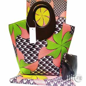 African Quality Fabrics Ankara Bags With 6 Yards Wax and Purse Xxxi | Bags for sale in Lagos State, Ikeja