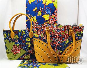 African Quality Fabrics Ankara Bags With 6 Yards Wax and Purse Xxxiv | Bags for sale in Lagos State, Ikeja