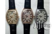 Franck Muller Mens Leather Wristwatch | Watches for sale in Lagos State, Surulere