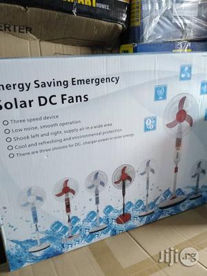 Solar DC Rechargeable Fan