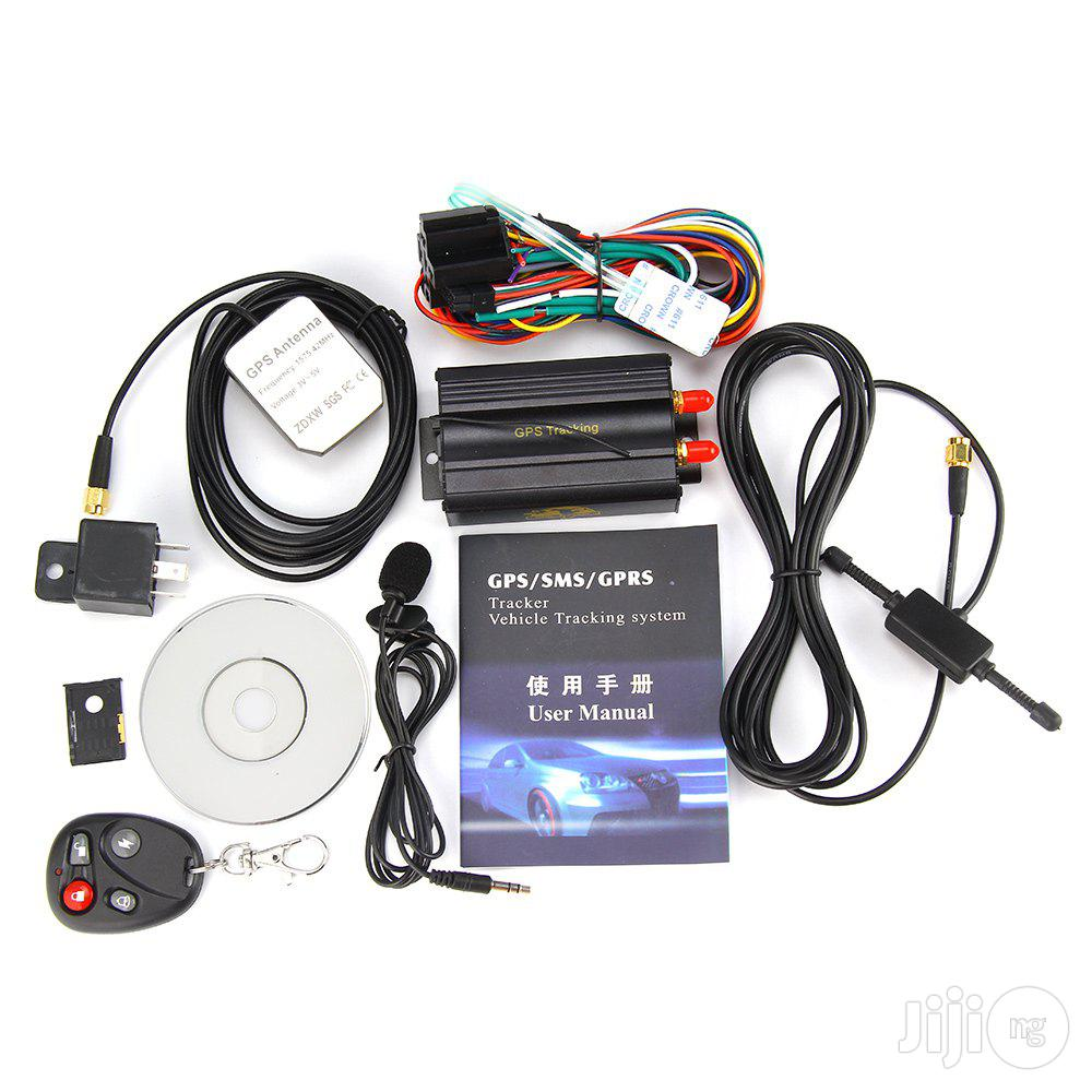 GPS/SMS/GPRS Vehicle And Keke Tracking System