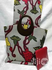 Gorgeous Ankara Bag With 6yards Wax and Purse Imported Viii | Bags for sale in Delta State, Warri