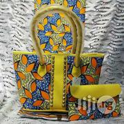 Gorgeous Ankara Bag With 6yards Wax and Purse Imported Ix | Bags for sale in Delta State, Warri