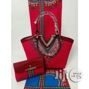 Gorgeous Ankara Bag With 6yards Wax and Purse Imported X | Bags for sale in Delta State, Warri