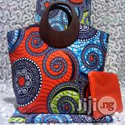 Exclusive Ankara Bags With 6yards Wax and Purse Imported Ix | Bags for sale in Delta State, Warri