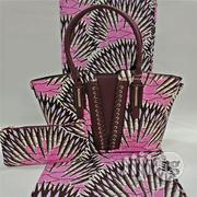 Gorgeous Ankara Bag With 6yards Wax And Purse Imported Xii | Bags for sale in Delta State, Ugheli
