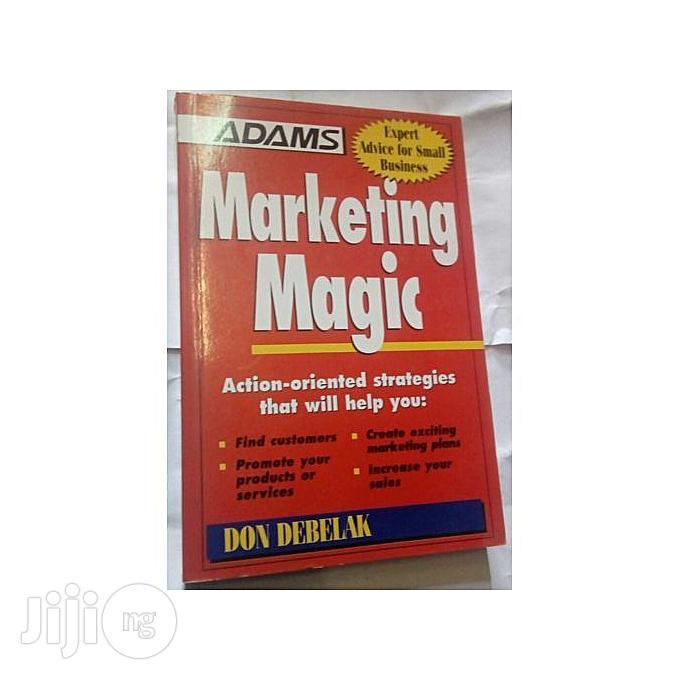 Archive: Marketing Magic By Don Debelak
