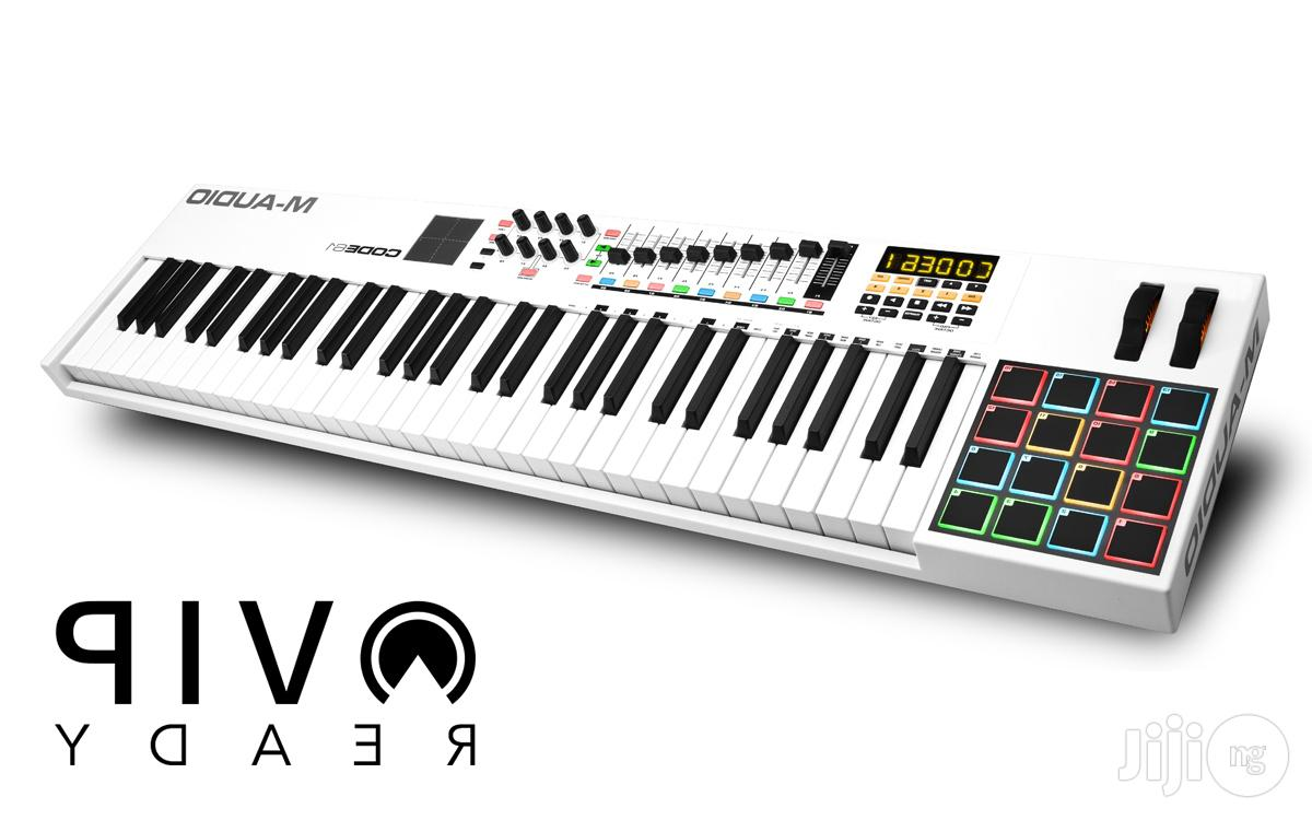 M-audio Code 61 Usb Midi Keyboard Controller With X/Y Touch Pad - White