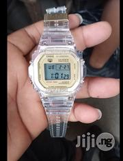 Casio White Rubber Wristwatch | Watches for sale in Lagos State, Surulere