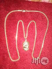 Pure 18karat Tested Gold Necklace With Jesus Piece Pendant | Jewelry for sale in Lagos State