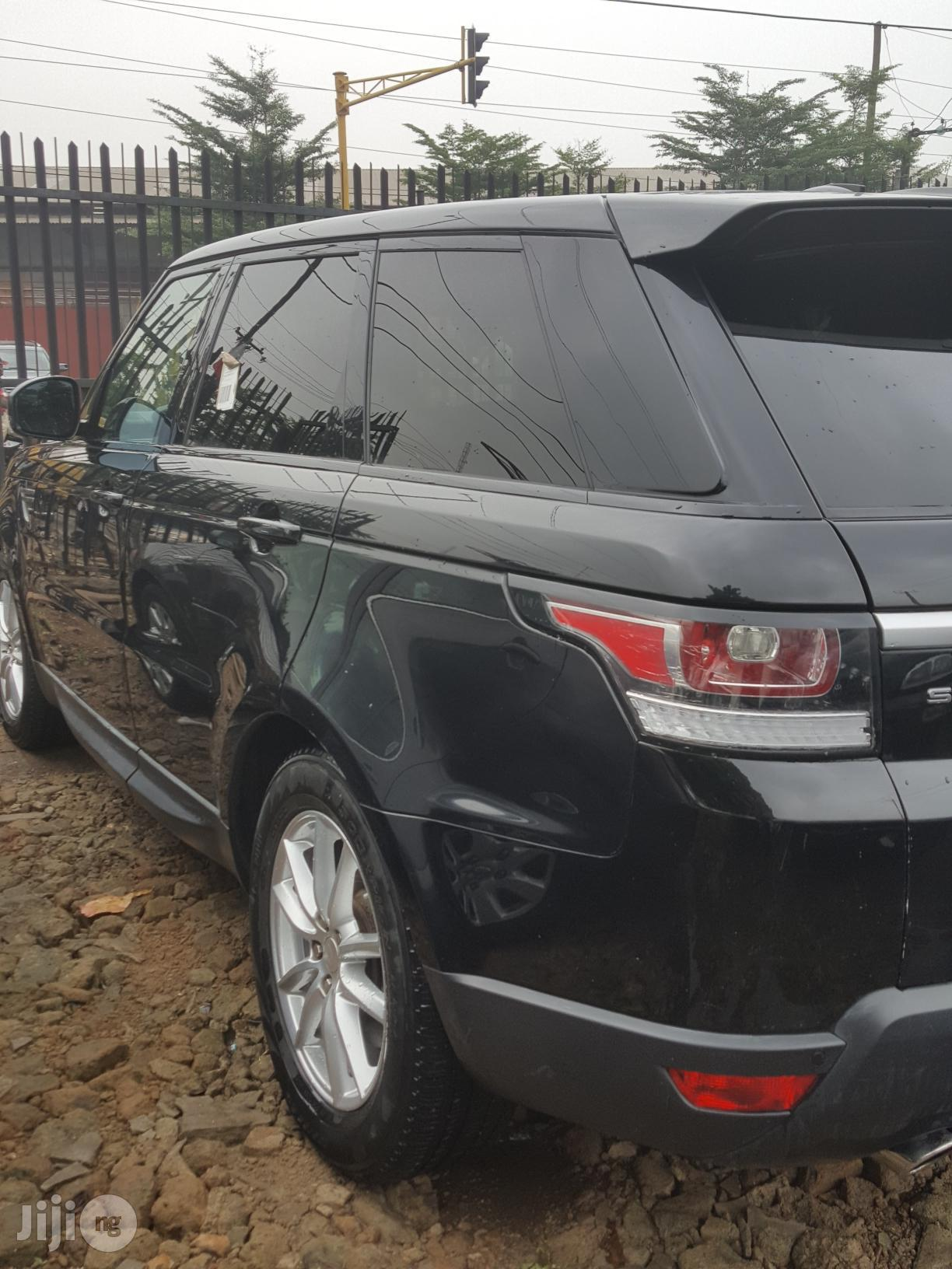 Land Rover Range Rover Sport 2014 Black | Cars for sale in Isolo, Lagos State, Nigeria