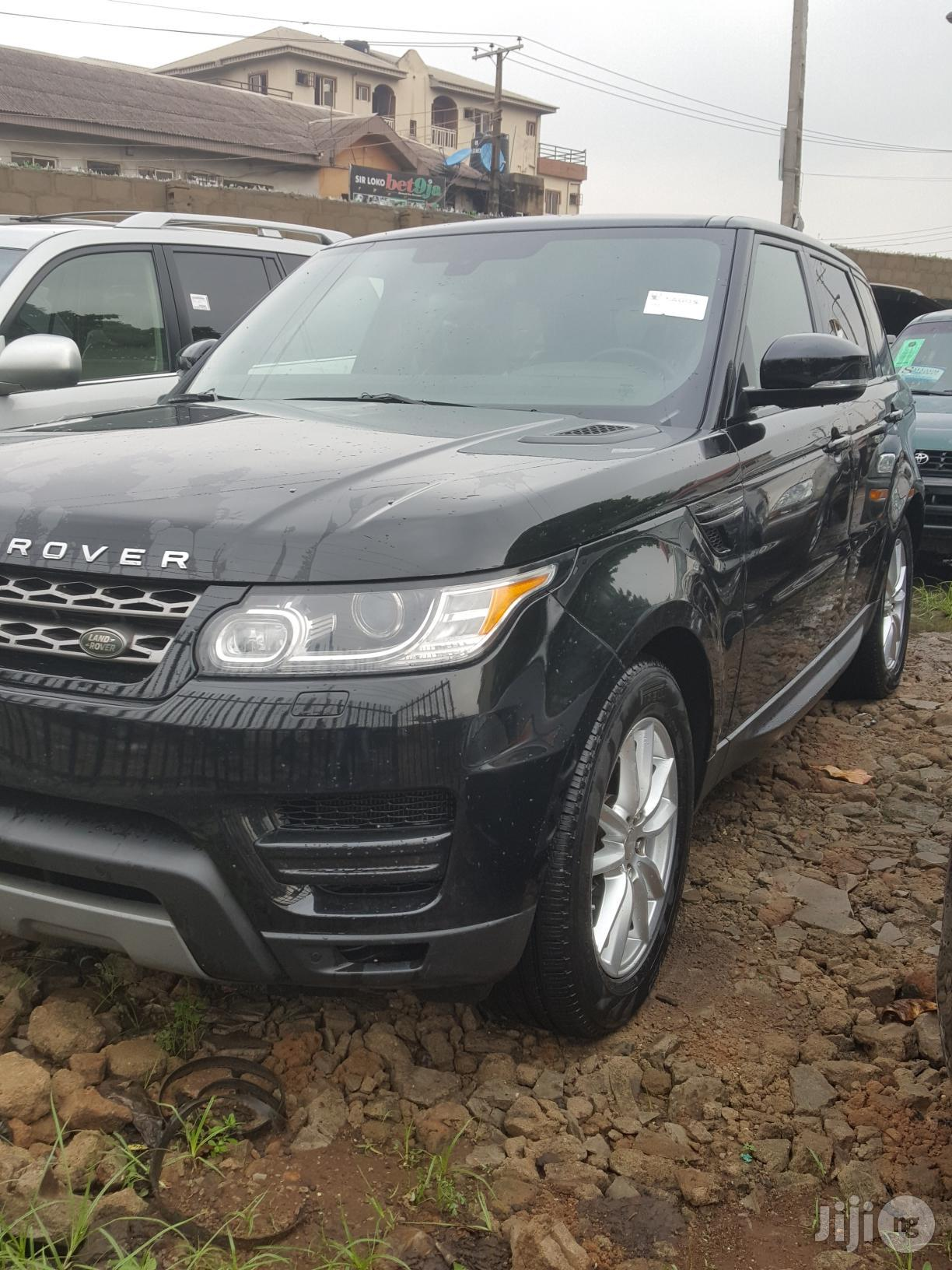 Land Rover Range Rover Sport 2014 Black