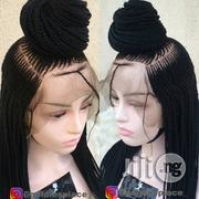 Braided Wig With Frontal Lace Human Hair | Hair Beauty for sale in Lagos State, Ikotun/Igando
