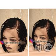 Short Braided Wig With Lace Frontals | Hair Beauty for sale in Lagos State, Ikotun/Igando