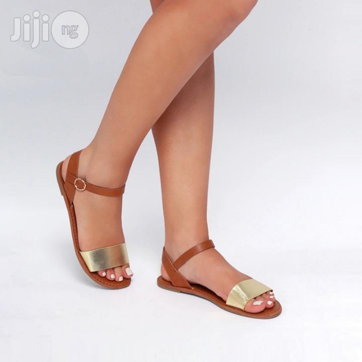 Archive: Stroll Girl Quality Women Sandals - Brown Gold