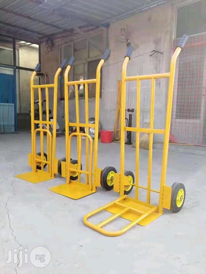 Hand Truck Yellow With 2tyre