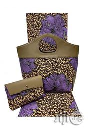 Fabricated Ankara Bags With 6yards Wax Purse All Imported Vi | Bags for sale in Ekiti State, Ilawe