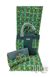 Fabricated Ankara Bags With 6yards Wax Purse All Imported Viii | Bags for sale in Ekiti State, Ilawe