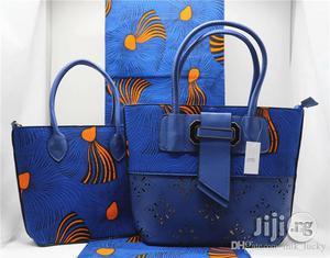High Fabric 6yards Wax and Ankara Bag With Purse Imported Xii | Bags for sale in Jigawa State, Dutse-Jigawa