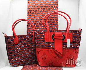 High Fabric 6yards Wax and Ankara Bag With Purse Imported Xv | Bags for sale in Jigawa State, Dutse-Jigawa