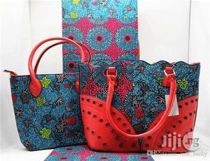 Fabricated Ankara Bags With 6yards Wax Purse All Imported Xi | Bags for sale in Kaduna State, Kaduna / Kaduna State