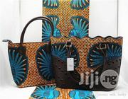 Fabricated Ankara Bags With 6yards Wax Purse All Imported Xii   Bags for sale in Kano State, Dala