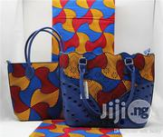 Fabricated Ankara Bags With 6yards Wax Purse All Imported Xiii   Bags for sale in Kano State, Dala