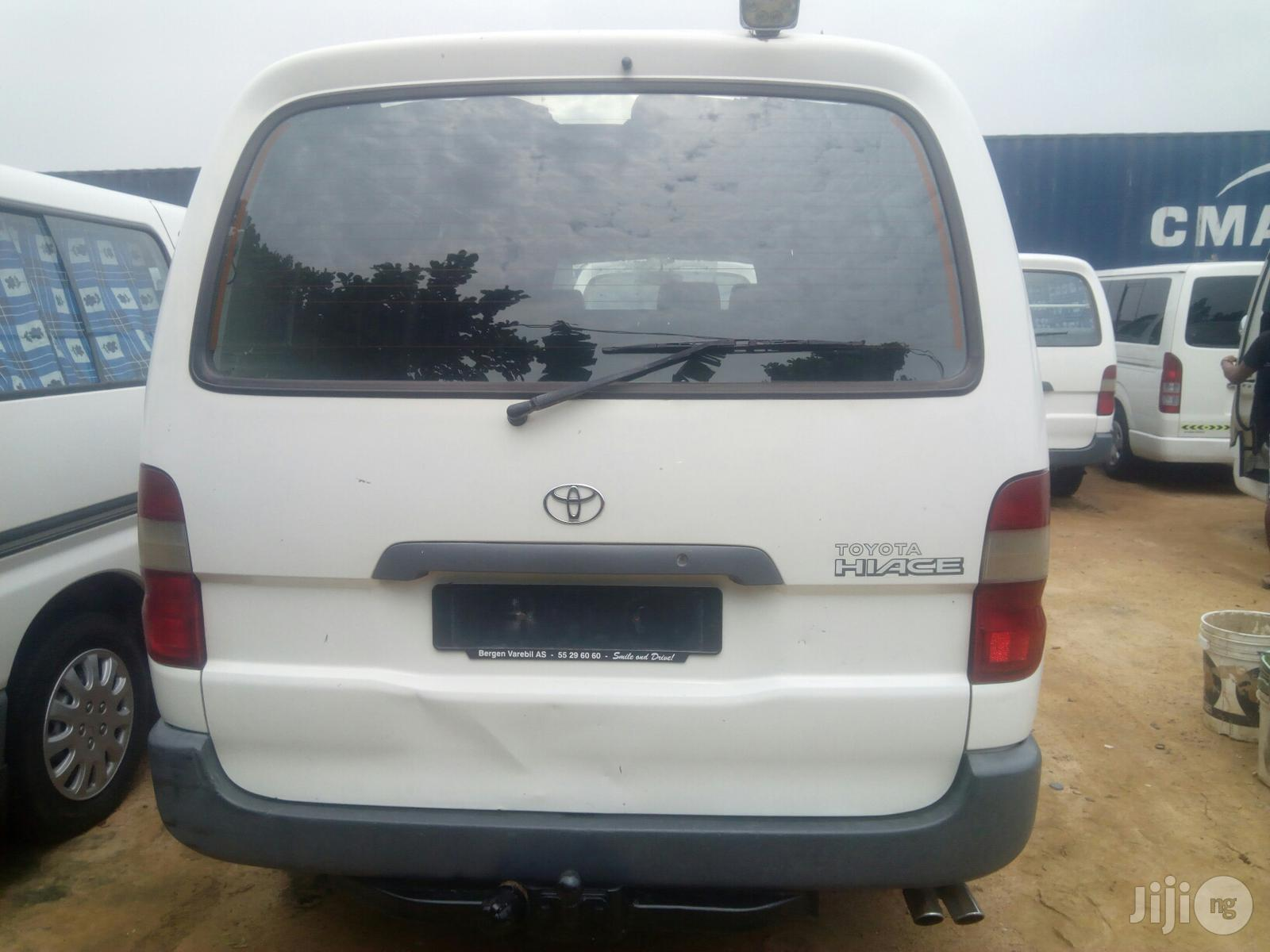 Toyota Hiace 2000 White | Buses & Microbuses for sale in Lagos State, Nigeria