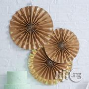 Kraft 3 Pack Paper Fans | Babies & Kids Accessories for sale in Lagos State, Surulere