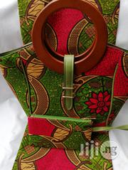 Imported Ankara Bags With 6 Yards Wax And Purse Ix | Bags for sale in Yobe State, Damaturu