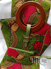 Imported Ankara Bags With 6 Yards Wax And Purse X | Bags for sale in Yobe State, Damaturu