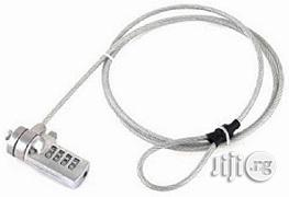 Security Cable Lock With Numbers Slot For Notebook/Laptop | Computer Accessories  for sale in Lagos State, Ikeja