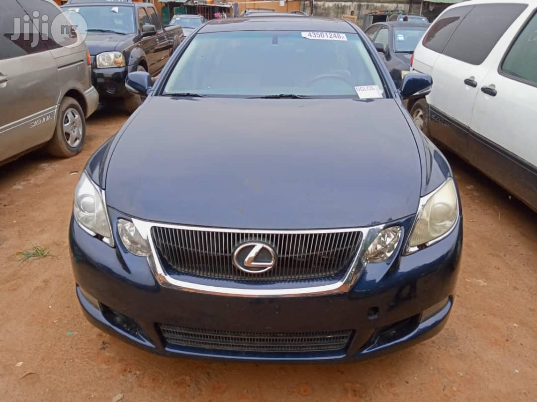 Lexus GS 2008 350 Blue | Cars for sale in Ojodu, Lagos State, Nigeria