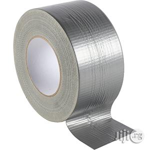 Duct Tape Strong Cloth Tape 2 Wide 50 Meter Roll - Gray   Stationery for sale in Lagos State, Ikeja