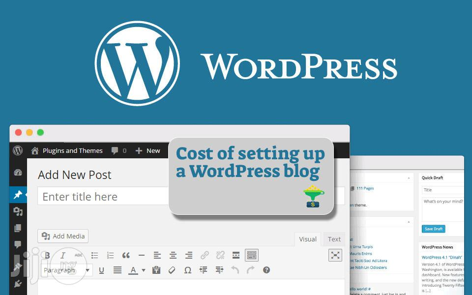 How To Setup A Wordpress Blog | Computer & IT Services for sale in Ibadan, Oyo State, Nigeria
