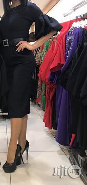Arizona Blue/Black Work Dress | Clothing for sale in Abuja (FCT) State, Garki 2
