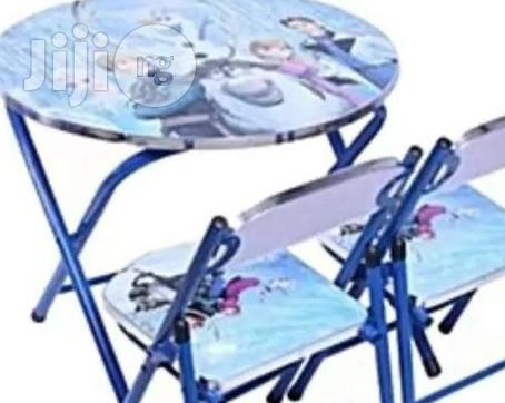 Character Kids Chair And Table
