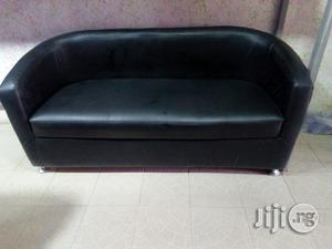 Sofa Bucket Chair : Three Seater Sofa Bucket Chair .Leather | Furniture for sale in Lagos State, Ojo