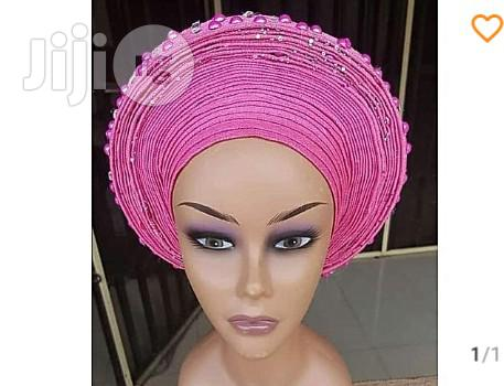 Auto Gele With Embellishments | Clothing Accessories for sale in Lagos State, Nigeria