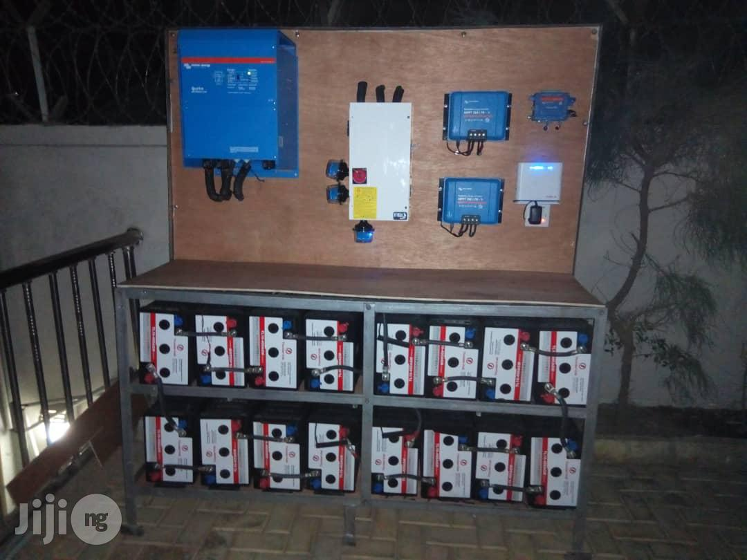 8kva Victron Energy Inverter And Solar Installation System