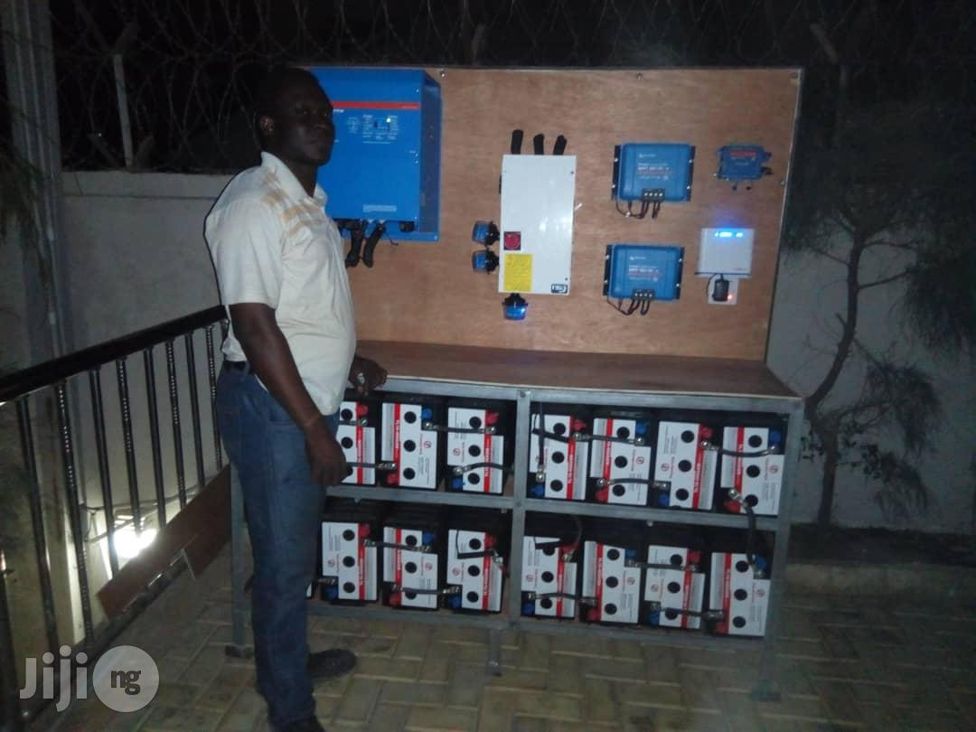 8kva Victron Energy Inverter And Solar Installation System | Building & Trades Services for sale in Central Business Dis, Abuja (FCT) State, Nigeria