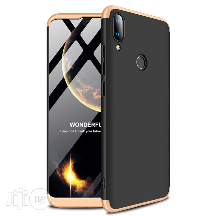 Archive: Huawei Y9 360 Degrees Full Coverage Protective Back Case (Black + Gold)