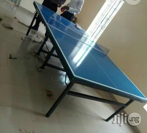 Brand New Local Table Tennis Board With Bat and Eggs | Sports Equipment for sale in Lagos State, Ikeja