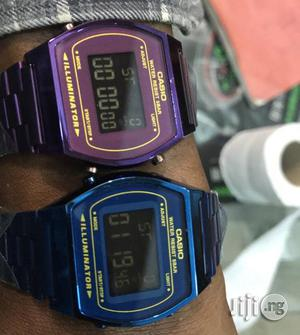 Casio Vintage 3pin Digital Chain Wrist Watch | Watches for sale in Lagos State, Lagos Island (Eko)