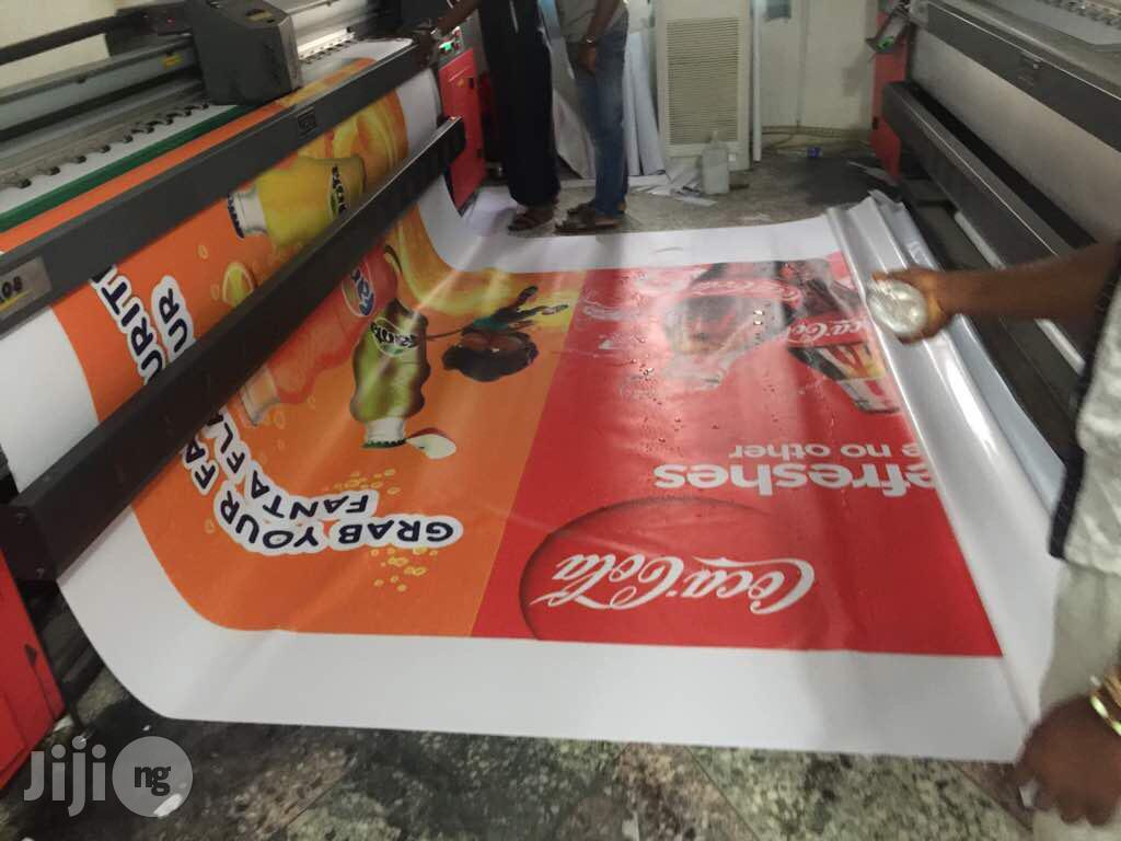 Large Format Printing (Flex / Vinyl Poster)