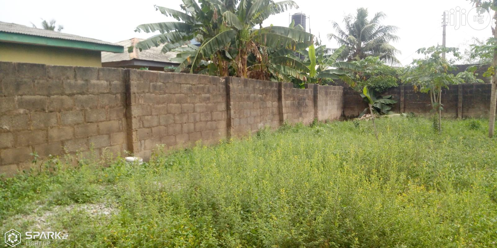 Full Plot Of Land Level And Dry Land Within An Accessible Location At Magboro
