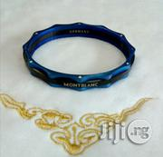 Montblanc Blue/Black Bracelet Bangle for Men's | Jewelry for sale in Lagos State, Lagos Island