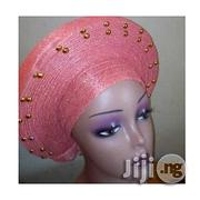 Fashion Auto Gele With Gold Pearl Embelishment | Clothing Accessories for sale in Lagos State