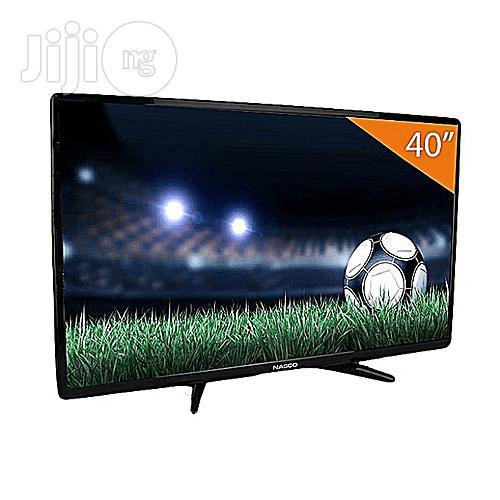"""Nasco Digital LED TV 40"""" With Inbuilt Decoder"""